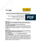 A Comparative Study of Online P2P Lending in the USA and China