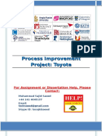 Process Improvement Project