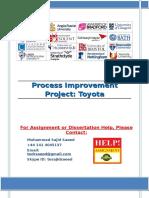 Process Improvement Project
