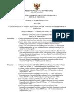 Permen Kominfo No.7 Th.2007 (Standar Penyiaran Digital)