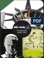 Novedades de Dibbuks para mayo de 2016