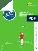 Manual de Reparación de Raquetas