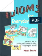 Milada Broukal - Idioms for Everyday Use - 2001