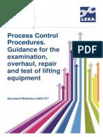 LEEA-017 Process Control Procedures Version 2 July 2014