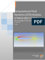 CFD of NACA0012