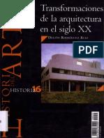 Transformaciones de la arquitectura en el siglo XX