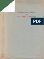 MacgillavryRieckEds InternationalTablesForX RayCrystallographyVol3 Text
