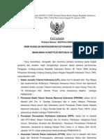 Amar Putusan MK No 63 Tahun 2004 Tentang UU Penyiaran