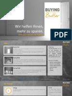 Buying Butler - wir helfen Ihnen, mehr zu sparen. Eine  Kurzübersicht