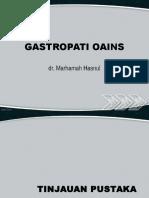 GASTROPATI OAINS