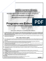 Cespe 2009 Ses Df Enfermeiro Neonatologia Prova