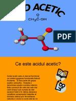 Acidul Acetic referat