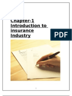 industrial analysis report on insurance