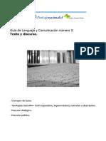 Guía Nº 3 PSU Tipos de Texto