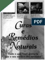 Curas e Remedios Naturais Livro