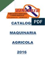 Catalogo 2016 AGRIMARBER