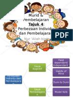Perbezaan Individu & Pembelajaran