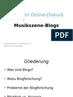 Musik im Online-Diskurs