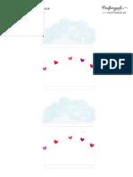 Nubes y Corazones Caja