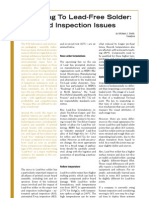 Impact of Pb free on test and inspection by teradyne