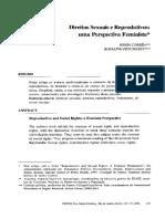 Correa e Petchesky - Direitos sexuais e reprodutivos