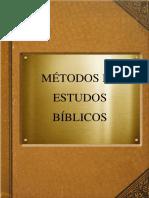 Métodos de Estudos Bíblicos-Aula33