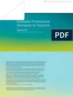 australian professional standard for teachers final