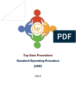 Standard Operating Procedure-Production 14 8 - Copy