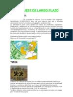 WEBQUEST DE LARGO PLAZO (EVALUACIÓN PROYECTOS DE INVERSIÓN)
