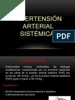 Hipertension Arterial Sistemica Exposicion de Patologia