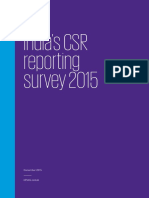 Kpmg Csr Survey 2015