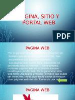 Pagina, Sitio y Portal Web