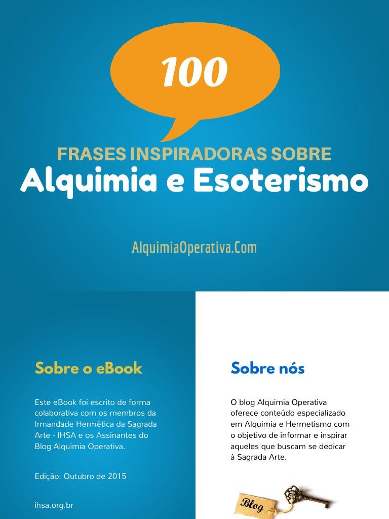 Alquimia Operativaebook 100 Frases Inspiradoras De Alquimia