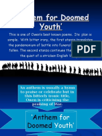 Anthem for Doomed Youth Powerpoint1