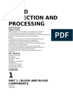 Blood Collection And