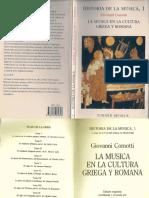 La Musica en La Cultura Griega y Romana