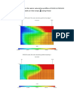 Saturation Profiles Using Floviz