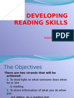 99906371 Developing Reading Skills