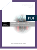 EIM Intro - Information Architectures -Doc