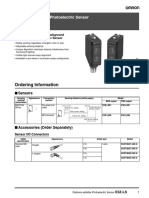 Fabricantes Omron PDF Sensores E3ZLS