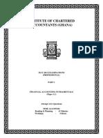 Financial Accounting Fundamentals May 2011