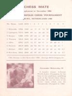 Match btw Tilburg 1986 + Gjovik 1983
