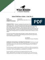 Sinbad Wild Burro Gather PDF