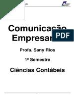 Apostila Comunicação Empresarial Contábeis2016.1