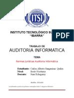 Normas Jurídicas Auditoria Informatica