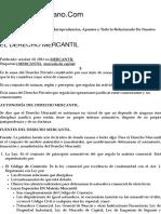 EL DERECHO MERCANTIL | DerechoVenezolano.Com