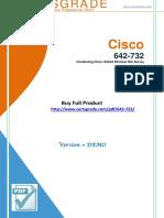 CertsGrade 642-732 Real Certification Test PDF