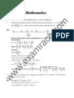 IIT Mathematics 2004