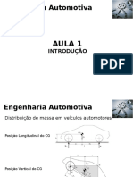 Engenharia Automotiva Aula 1 Introducao