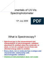 Fundamentals of UV-Vis Spectrophotometer